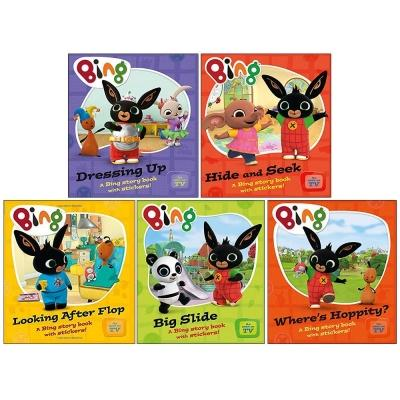 Bing As Seen On Tv - Bing 5 Children Story Books Collection Pack Set - books 4 people
