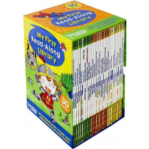Reading Ladder My First Read-along Library Collection 30 Books Box Set - books 4 people