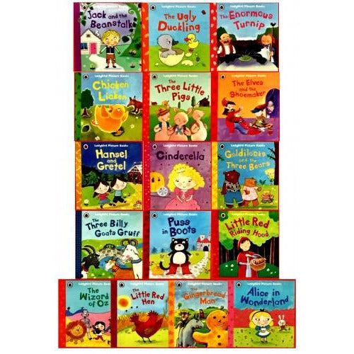Ladybird First Favourite Tales 16 Picture Books Collection Set - books 4 people