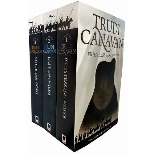 Trudi Canavan 3 Books Collection Sets - Priestess Of The White - Last Of The Wilds - Voice Of The .. - books 4 people