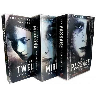 Justin Cronin The Passage Trilogy 3 Books Collection Set - books 4 people