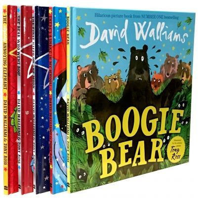The David Walliams Collection 5 Books Set - books 4 people