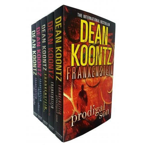 Dean Koontz Frankenstein Series Collection 5 Books Set Pack - books 4 people