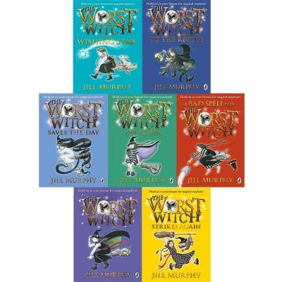 The Worst Witch Jill Murphy 7 Books Collection Set - books 4 people