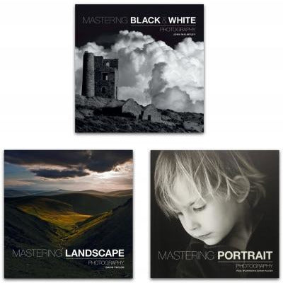 Mastering Photography 3 Books Collection Set - books 4 people