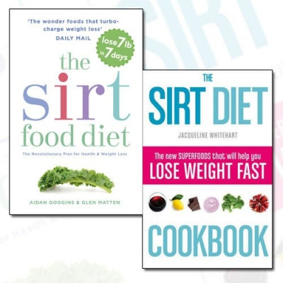 Sirtfood Diet Collection 2 Books Set - The Sirt Food Diet The Sirt Diet Cookbook - books 4 people