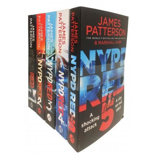 James Patterson Nypd Red Collection 5 Books Set Nypd Red Nypd Red 2 Nypd Red 3 Nypd Red 4 Nypd Red 5 - books 4 people