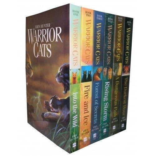 Warriors Cats Series 1 6 Books Collection Set By Erin Hunter - books 4 people