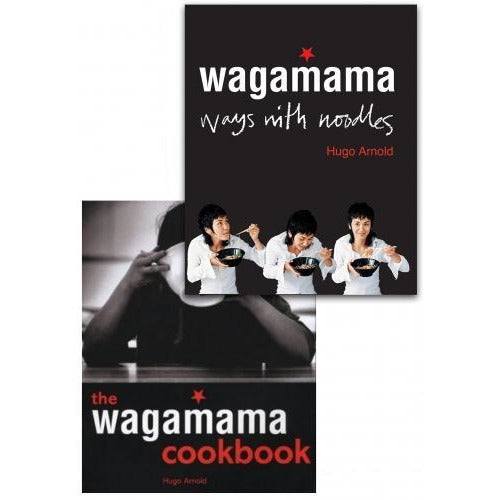 Wagamama Cookbook And Wagamama Ways With Noodles 2 Books Collection Set By Hugo Arnold - books 4 people