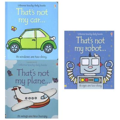 Thats Not My Boys Touchy Feely Series 3 Books Collection Set - Thats Not My Robot Thats Not My Car.. - books 4 people
