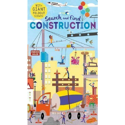 Fermin Solis Search And Find - Construction - books 4 people