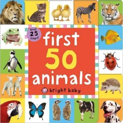 First 50 Animals Lift The Flap Tab Over 25 Flaps - books 4 people