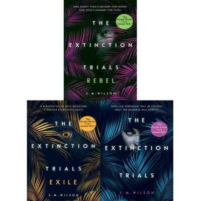 The Extinction Trials Series S M Wilson Collection 3 Books Set The Extinction Trials The Extinctio.. - books 4 people