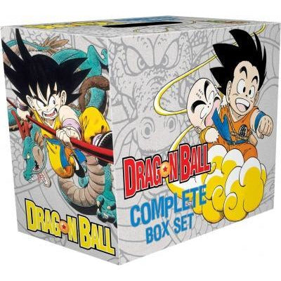 Dragon Ball Complete Box Set - 1-16 Complete Childrens Gift Set Collection Akira Toriyama - books 4 people
