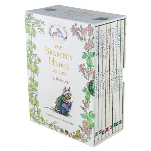 The Brambly Hedge Library 8 Books Box Set By Jill Barklem - books 4 people