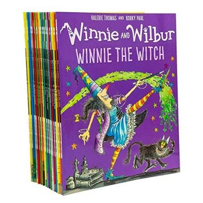 Winnie And Wilbur Series 16 Books Bag Collection Set By Valerie Thomas And Korky Paul - books 4 people