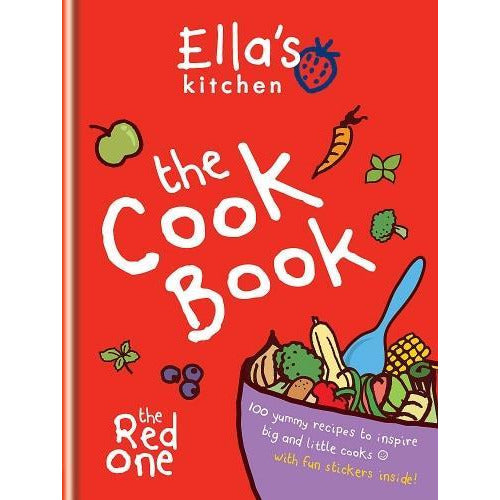 Ellas Kitchen The Cookbook The Red One - books 4 people