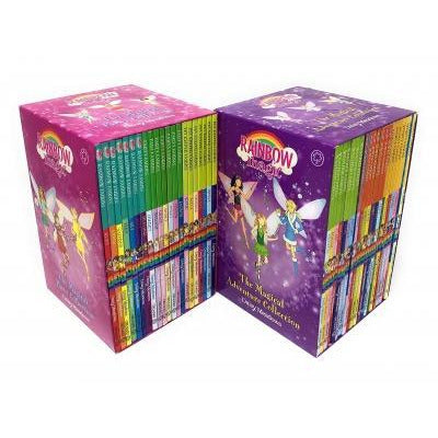 Rainbow Magic Series Collection 42 Books Set Colour Fairies Weather Fairies Party Fairies Jewel Fa.. - books 4 people