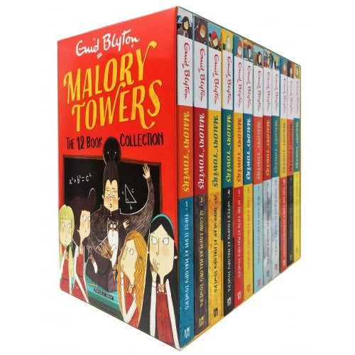 Enid Blyton Malory Towers The 12 Books Complete Collection - books 4 people
