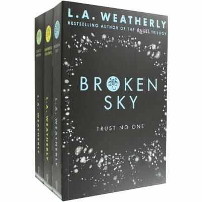 Broken Trilogy 3 Books Collection Set Broken Trilogy Darkness Follows Broken Sky - books 4 people