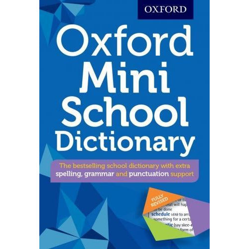 Oxford Mini School Dictionary Fully Revised 9780192747082 - books 4 people