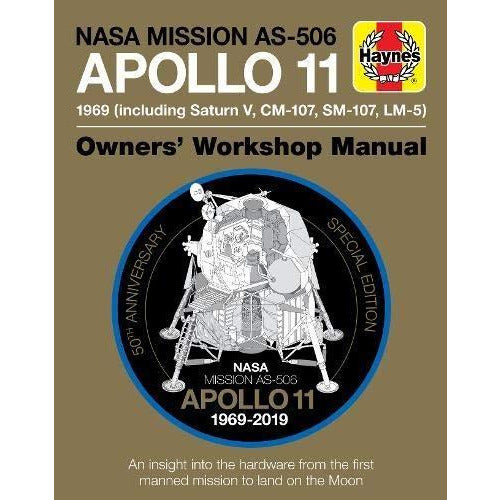 Nasa Mission As-506 Apollo 11 Owners Workshop Manual Haynes Manual - books 4 people