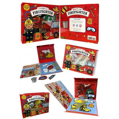 Lets Pretend Firefighter Lets Pretend Sets - books 4 people