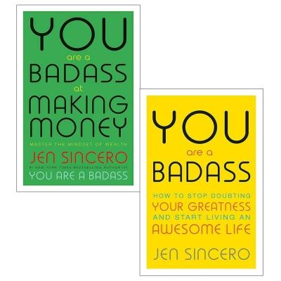 You Are A Badass Collection 2 Books Set How To Stop Doubting Your Greatness And Start Living An Aw.. - books 4 people