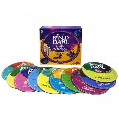 Roald Dahl Phizz-whizzing 16 Audio Book Mp3 Cd Children Collection Box Set - books 4 people