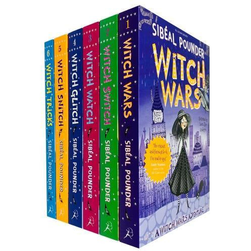 The Witch Wars Series Collection 6 Books Set By Sibeal Pounder Witch Wars Witch Switch Witch Watch.. - books 4 people