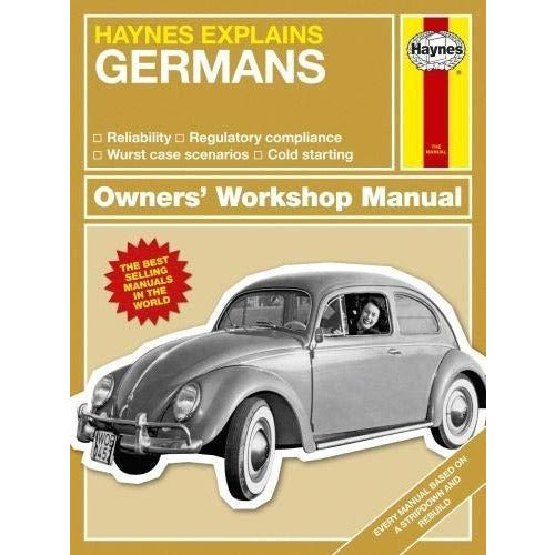 Haynes Explains The Germans Owners Workshop Manual - books 4 people