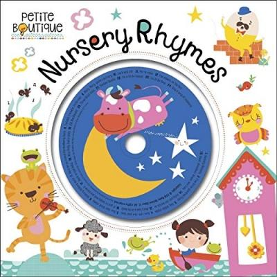 Petite Boutique Nursery Rhymes Childrens Hardback Book With Cd - books 4 people
