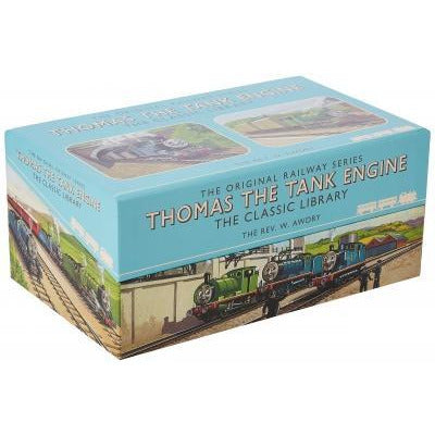 Thomas The Tank Engine Railway Series 26 Books Collection Boxed Set Gift Pack - books 4 people