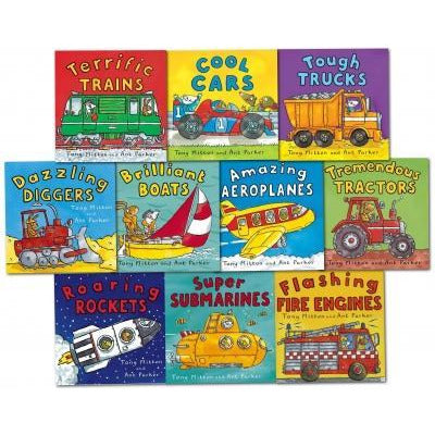 Amazing Machines Truckload Children Collection Tony Mitton 10 Books Set - books 4 people