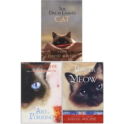 David Michie The Dalai Lamas Cat 3 Books Collection Set The Dalai Lamas Cat The Art Of Purring The.. - books 4 people