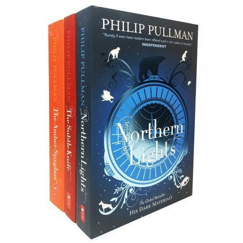 Philip Pullman His Dark Materials 3 Books Collection Set New Cover - books 4 people