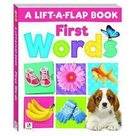 A Lift-a-flap Book First Word Hardback Children Books - books 4 people
