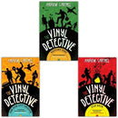 Andrew Cartmels The Vinyl Detective 3 Books Set  Flip Back  The Runout Groove  Victory Disc - books 4 people