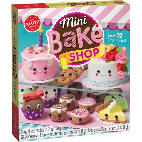 Mini Bake Shop - Make 12 Clay Treats - books 4 people