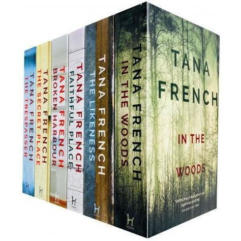 Dublin Murder Squad Series 6 Books Collection Set By Tana French In The Woods The Likeness Faithfu.. - books 4 people