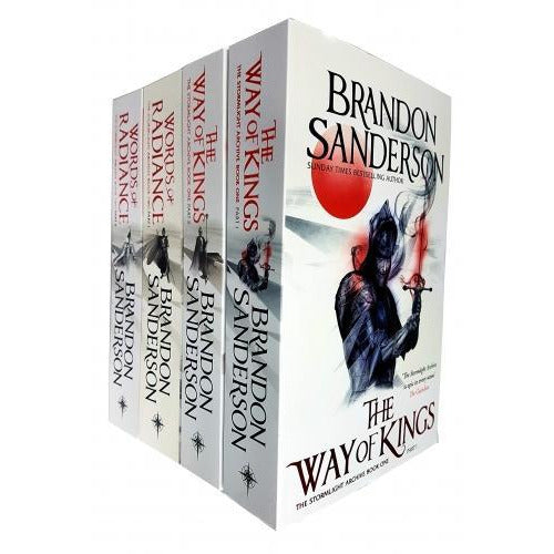 Brandon Sanderson The Stormlight Archive Series 4 Books Collection Set Epic Fantasy Books - books 4 people