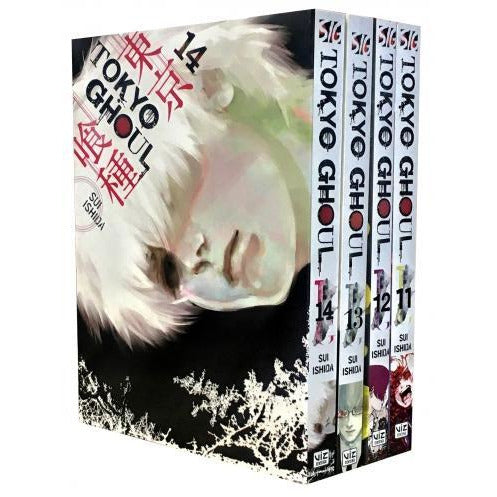 Tokyo Ghoul Volume 11-14 Collection 4 Books Set Series 3 - books 4 people