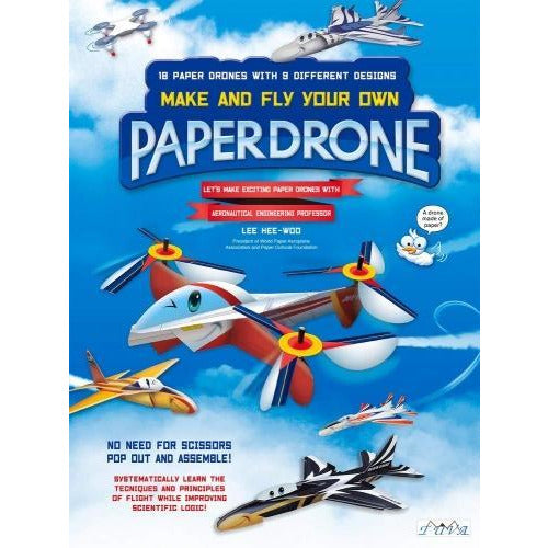 Paper Drone - Make And Fly Your Own Paper Drone - books 4 people