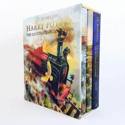 Harry Potter  The Illustrated Collection  Three Magical Classics - books 4 people