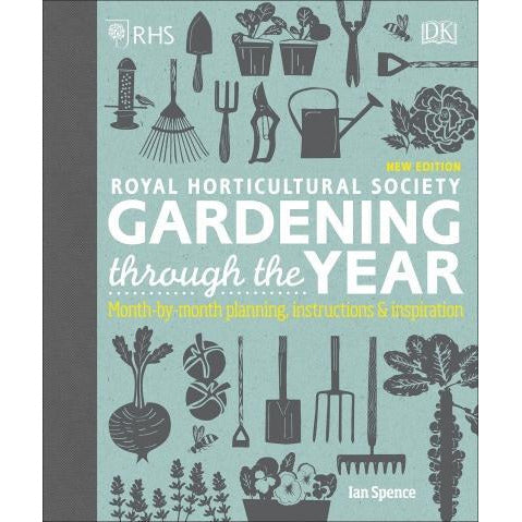 Rhs Gardening Through The Year - Month-by-month Planning Instructions And Inspiration - books 4 people