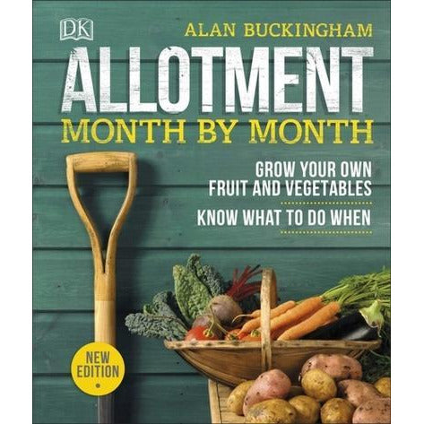 Allotment Month By Month - Grow Your Own Fruit And Vegetables Know What To Do When - books 4 people