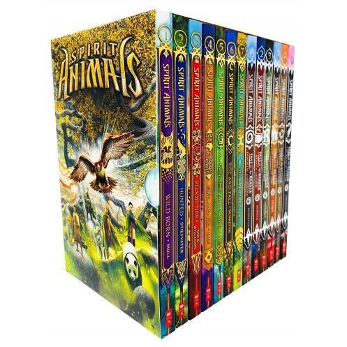 Spirit Animals 13 Books Box Set Series 1 And 2 Collection - Spirit Animals Books 1 - 7 And Fall Of.. - books 4 people