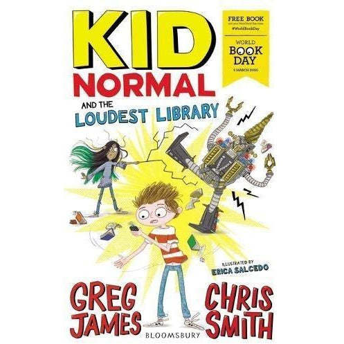 Kid Normal And The Loudest Library - World Book Day 2020 - books 4 people