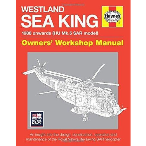 Westland Sar Sea King Manual - Owners Workshop Manual - books 4 people