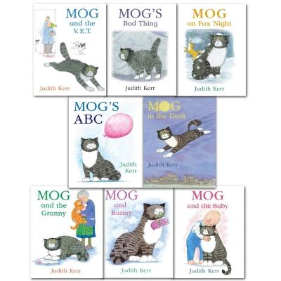 Mog The Cat Books Series 8 Books Collection Set Pack By Judith Kerr - Mog And The Baby Mogs Abc Mo.. - books 4 people